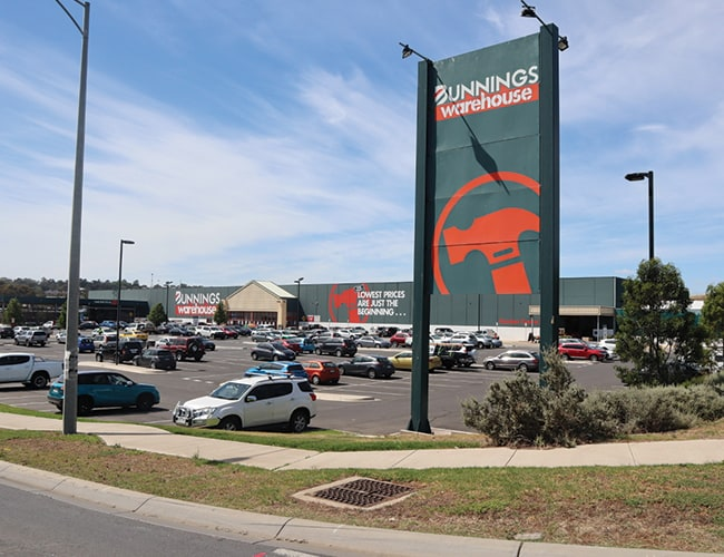 Bunnings & Commercial Area